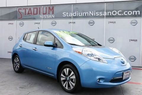 Certified Pre-Owned 2014 Nissan Leaf SL