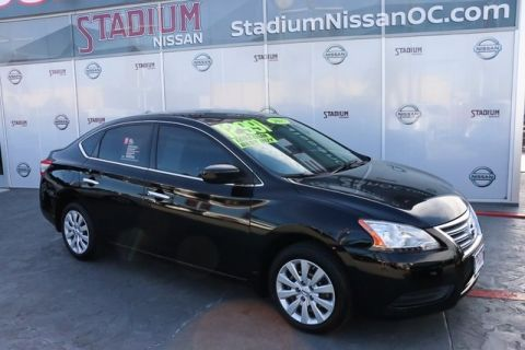 Certified Used Nissan Sentra SV