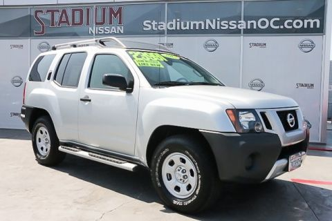 Certified Pre-Owned 2015 Nissan Xterra S
