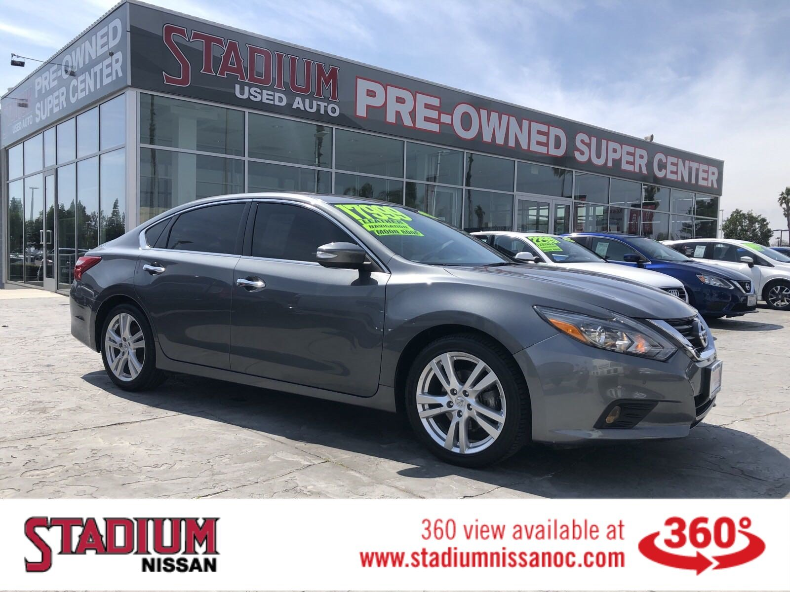 Pre Owned 2016 Nissan Altima 3 5 Sl
