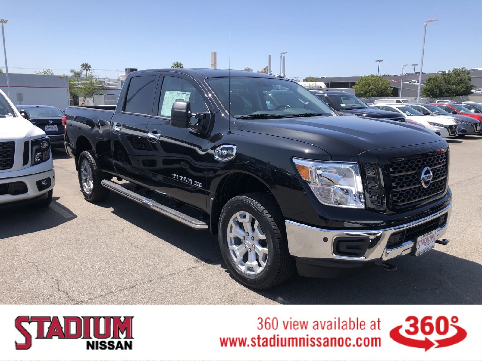 New Nissan Titan >> New 2019 Nissan Titan Xd Sv With Navigation 4wd