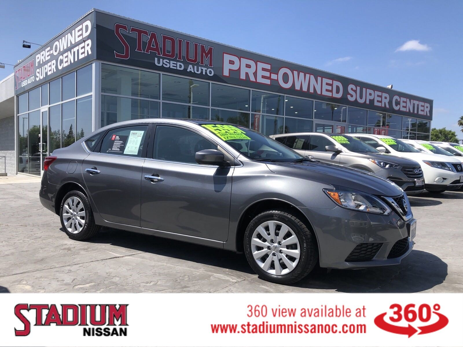 Pre Owned 2017 Nissan Sentra Sv