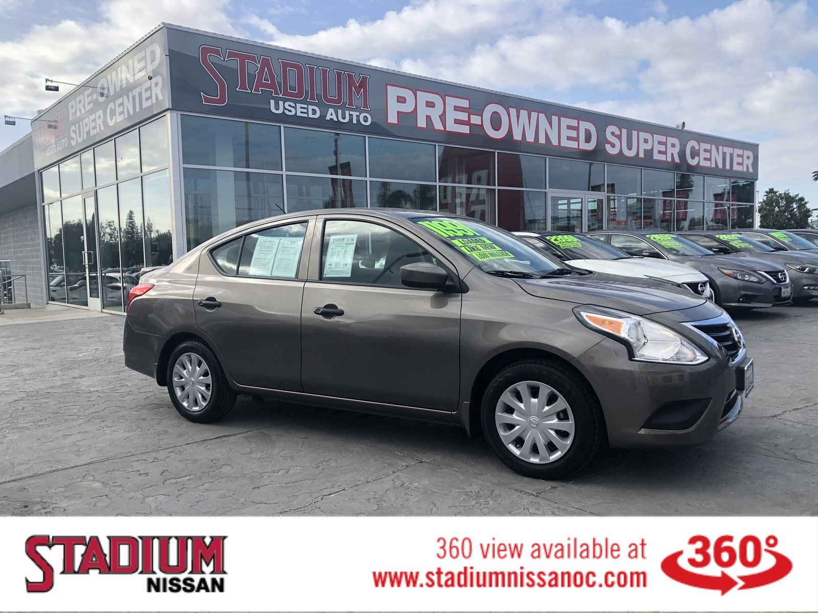 Certified Pre-Owned 2016 Nissan Versa S Plus