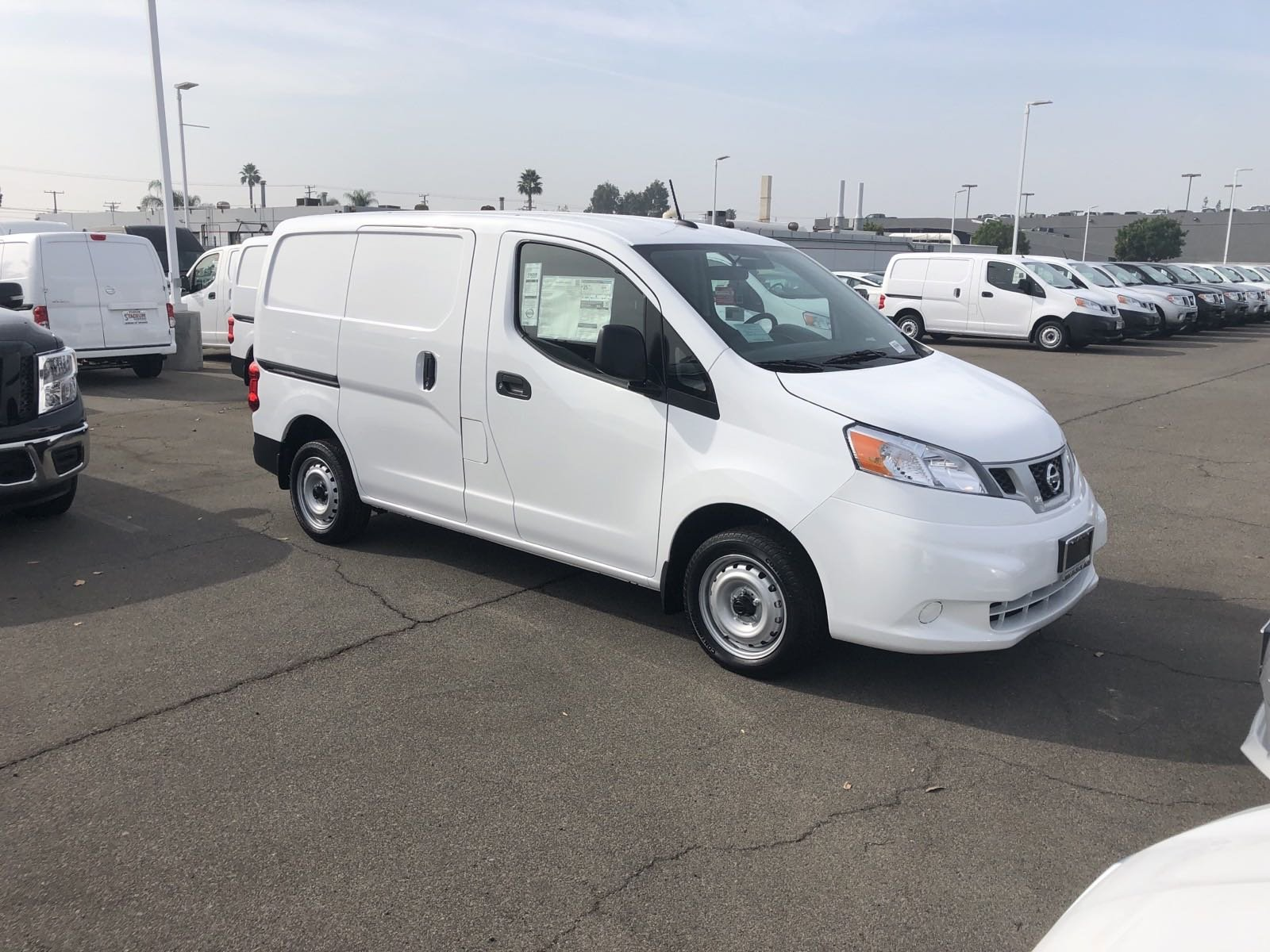 New 2020 Nissan NV200 Compact Cargo S