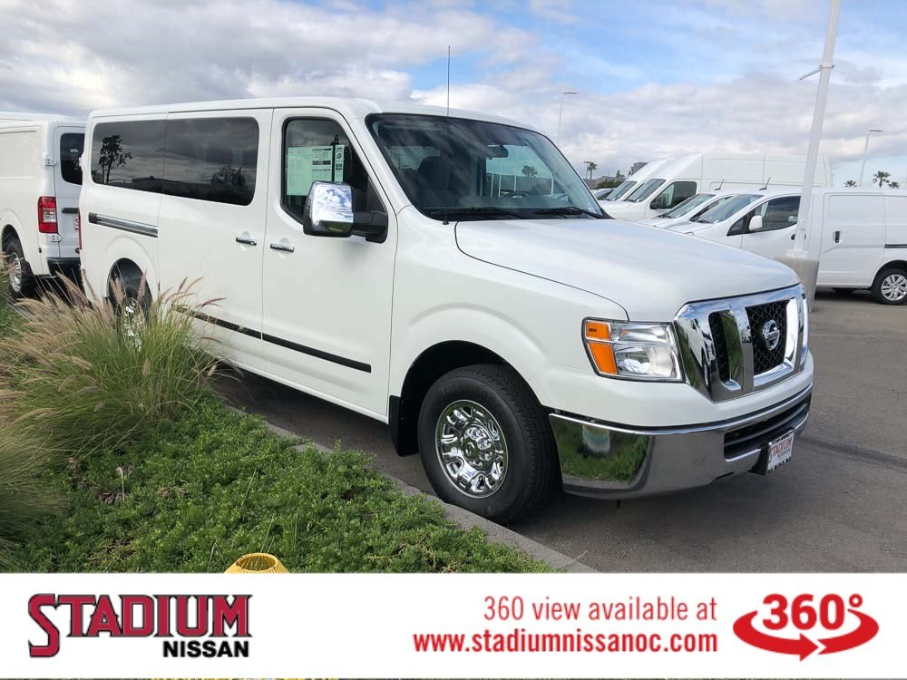 New 2019 Nissan NV Passenger NV3500 HD SV