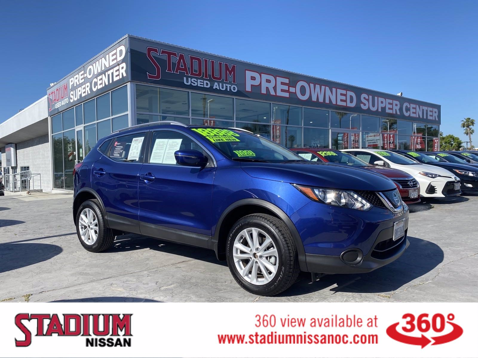 Certified Pre-Owned 2018 Nissan Rogue Sport