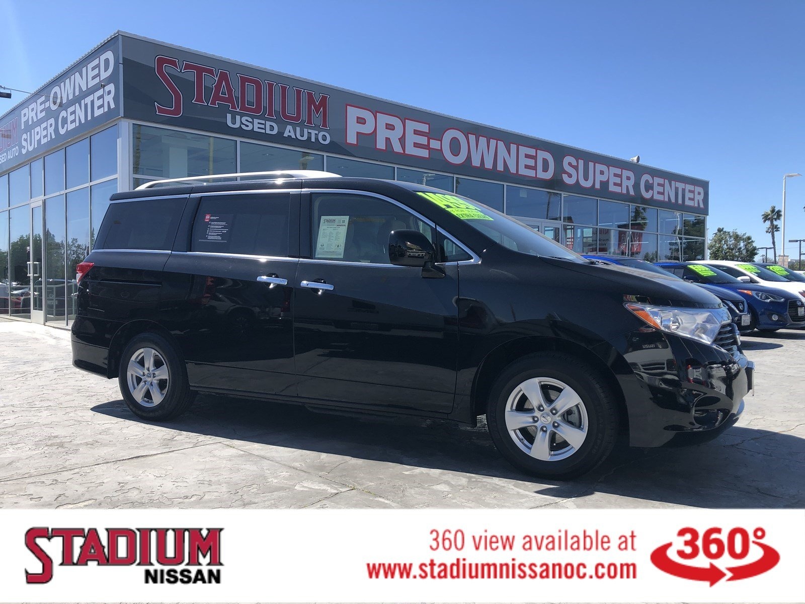 Certified Pre-Owned 2016 Nissan Quest SV
