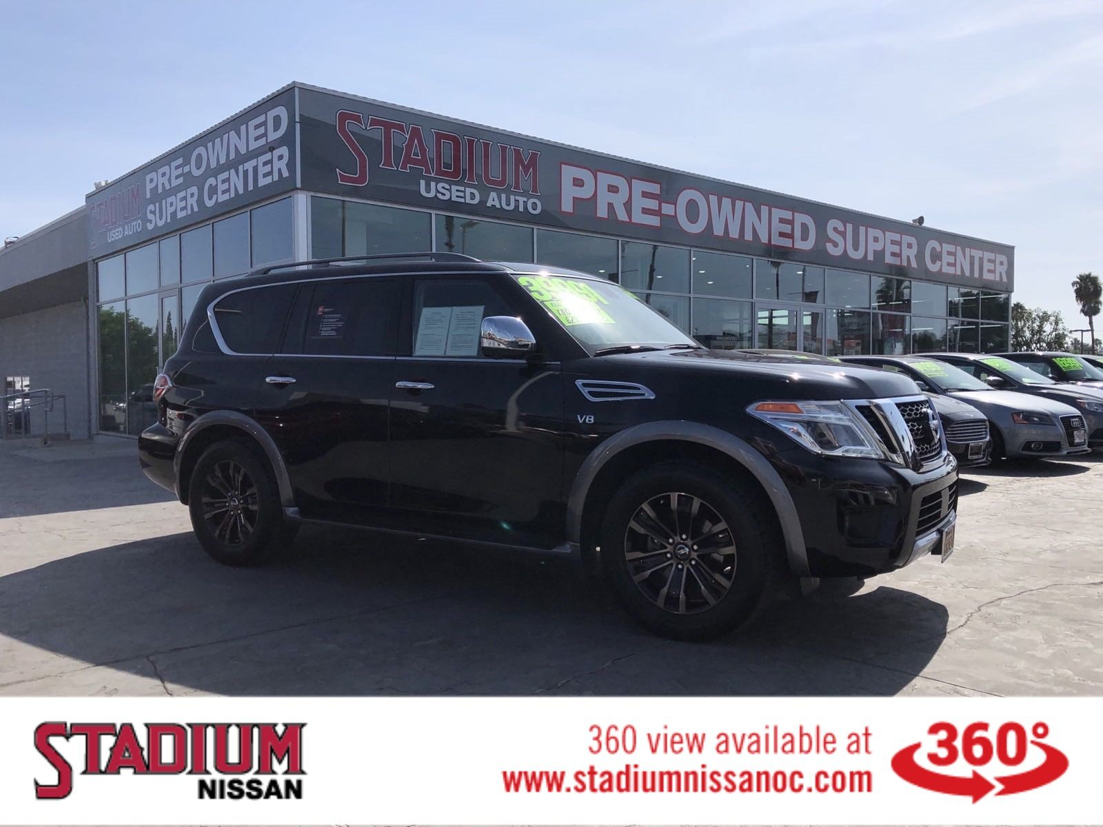 Pre-Owned 2017 Nissan Armada