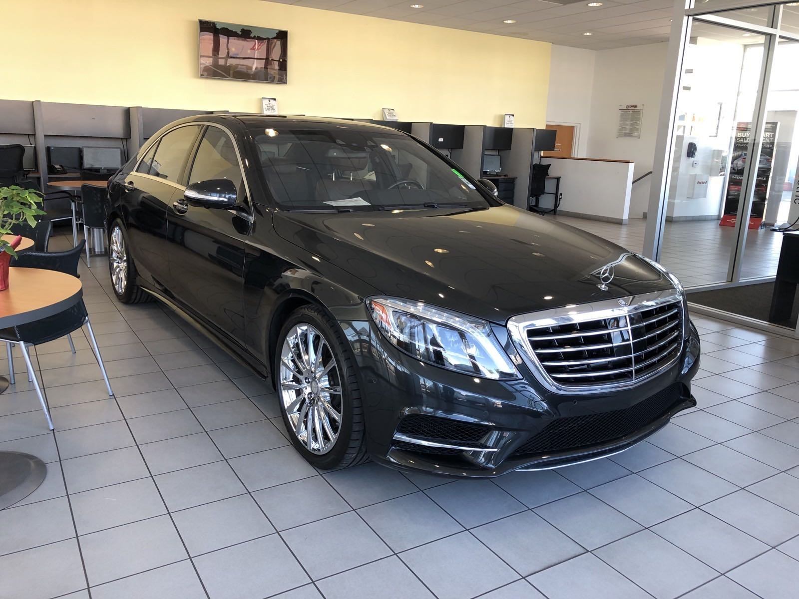 Used Mercedes Benz S Class Orange Ca