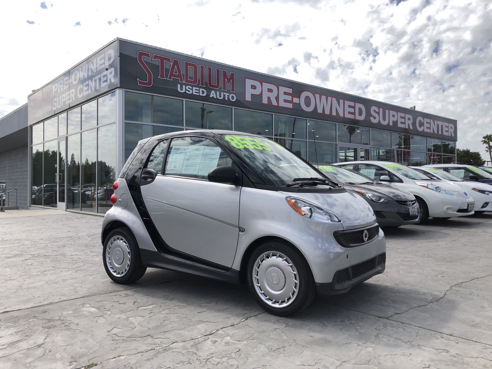 Used Smart Fortwo Orange Ca