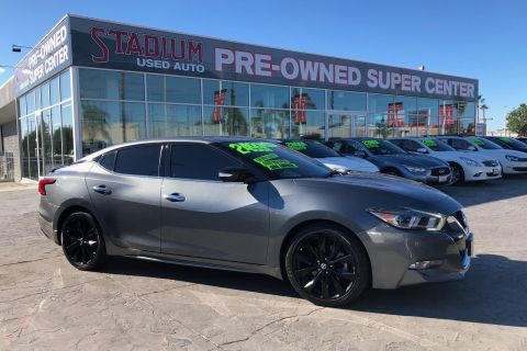 Pre-Owned 2017 Nissan Maxima