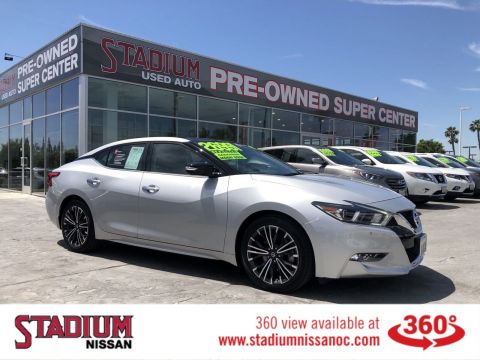 Certified Pre-Owned 2017 Nissan Maxima SL