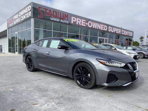 Certified Pre-Owned 2019 Nissan Maxima SL
