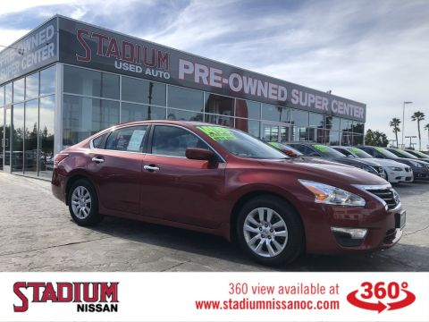 Certified Pre-Owned 2015 Nissan Altima 2.5 S