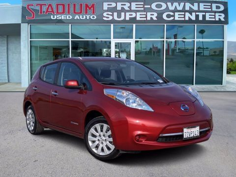 Certified Pre-Owned 2013 Nissan LEAF S