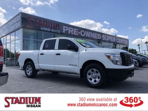 Pre-Owned 2018 Nissan Titan S