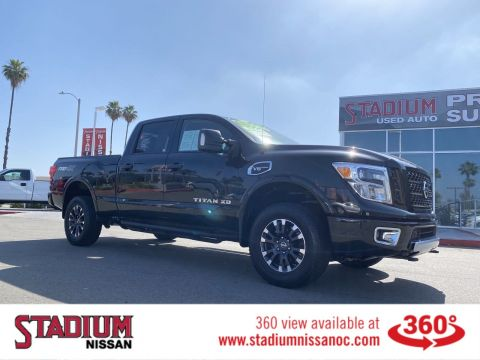 Certified Pre-Owned 2017 Nissan Titan XD PRO-4X