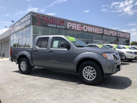 Certified Pre-Owned 2018 Nissan Frontier SV V6
