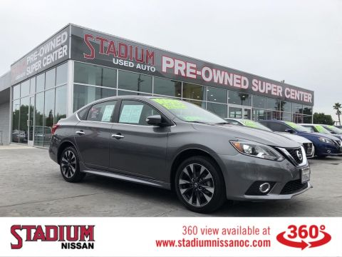 Certified Pre-Owned 2017 Nissan Sentra