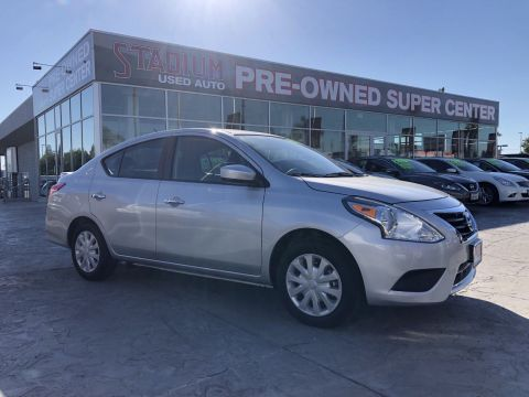 Pre-Owned 2018 Nissan Versa Sedan