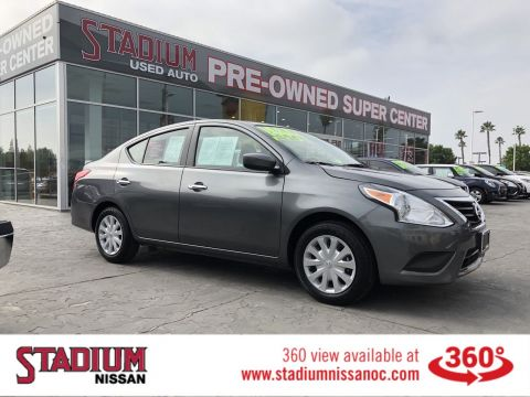 Certified Pre-Owned 2019 Nissan Versa Sedan