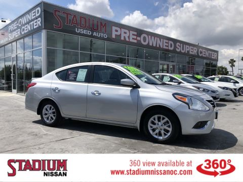 Pre-Owned 2017 Nissan Versa Sedan