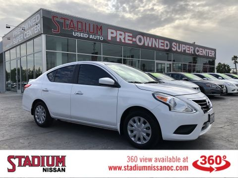 Certified Pre-Owned 2015 Nissan Versa SV