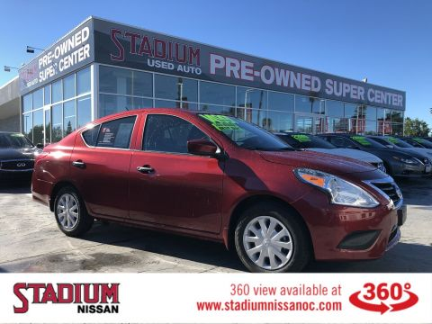Certified Pre-Owned 2018 Nissan Versa Sedan S Plus