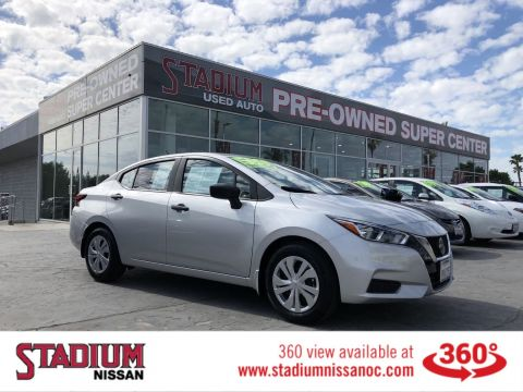 Certified Pre-Owned 2020 Nissan Versa S