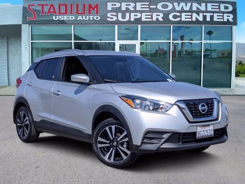 Certified Pre-Owned 2018 Nissan Kicks SV