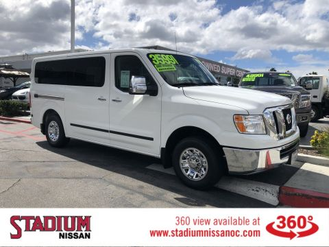 Pre-Owned 2018 Nissan NV Passenger NV3500 HD SV