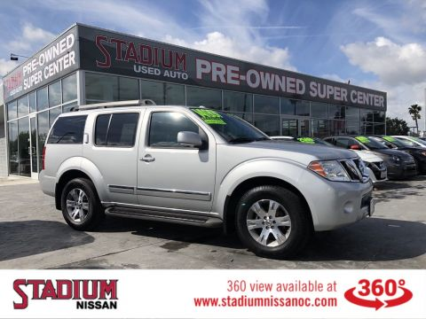 Pre-Owned 2012 Nissan Pathfinder Silver Edition