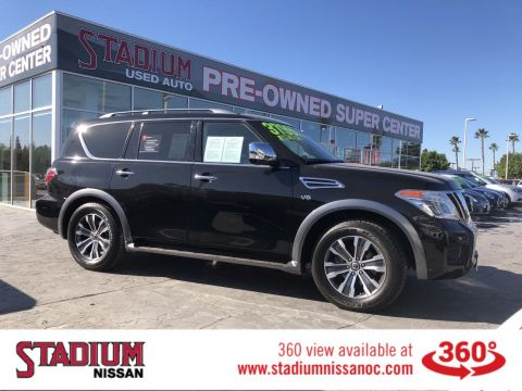 Certified Pre-Owned 2019 Nissan Armada